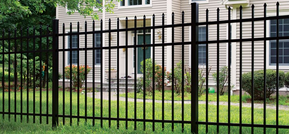 ActiveYards Marble style aluminum fence